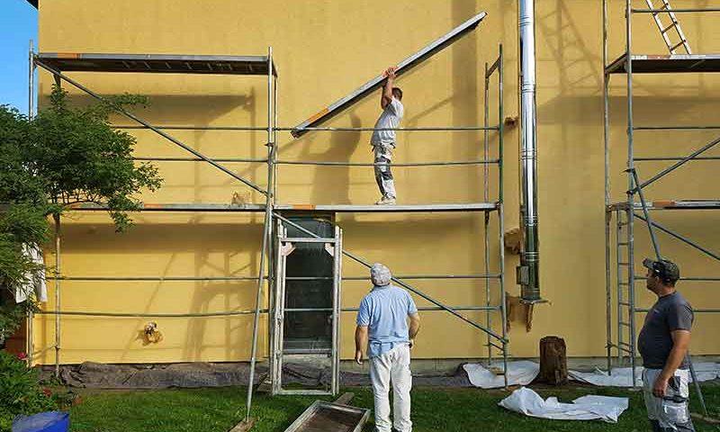 renovieren Renovierung Farben Tapete